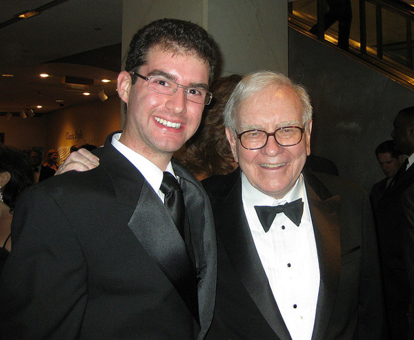 Warren Buffett with Jonathan Bronstein