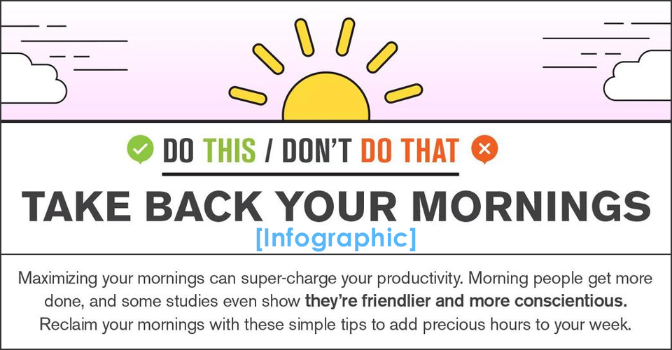 How to Take Back Your Mornings [Infographic]