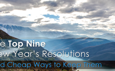 The Top 9 New Year's Resolutions and Cheap Ways to Keep Them