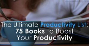 75 best productivity books