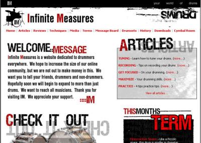Infinite Measures