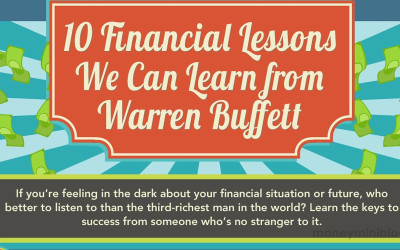 10 Financial Lessons Warren Buffett Can Teach Us [Infographic]