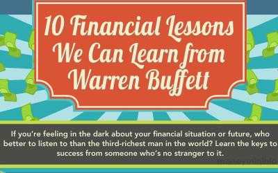 10 Financial Lessons Warren Buffett Can Teach Us [Infographic]