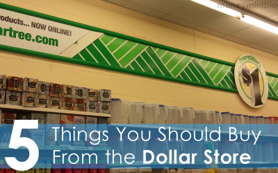 15 Things You Should Buy From the Dollar Store