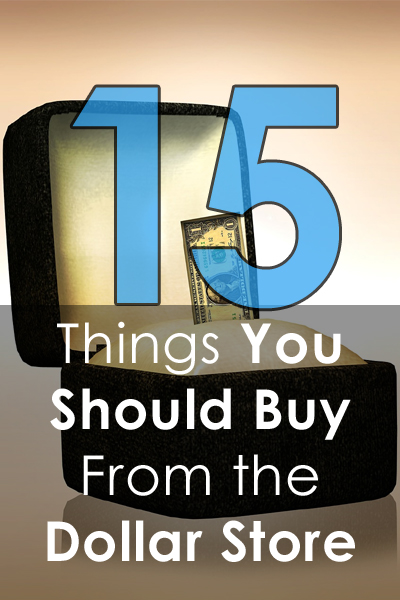 Things You Should Buy From the Dollar Store