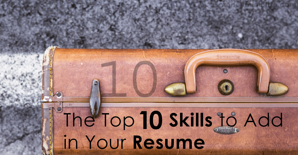 Skills to add in a resume