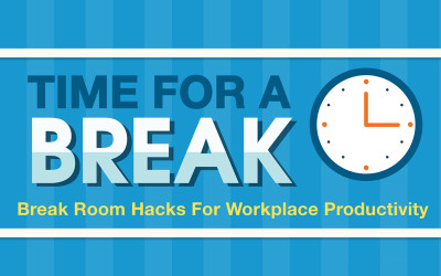 Break Room Hacks to Maximize Your Productivity at Work [Infographic]