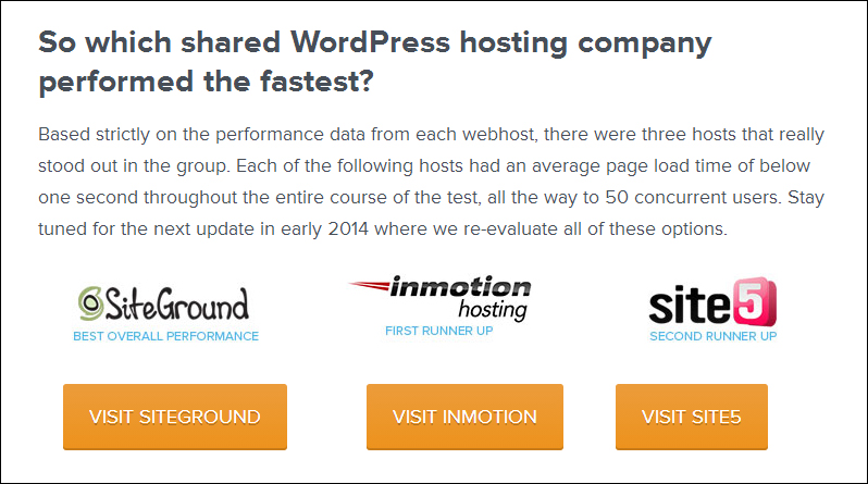 siteground top wordpress hosting