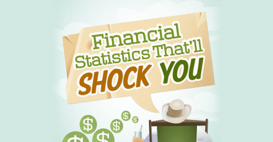 Financial Statistics That'll Shock You [Infographic]
