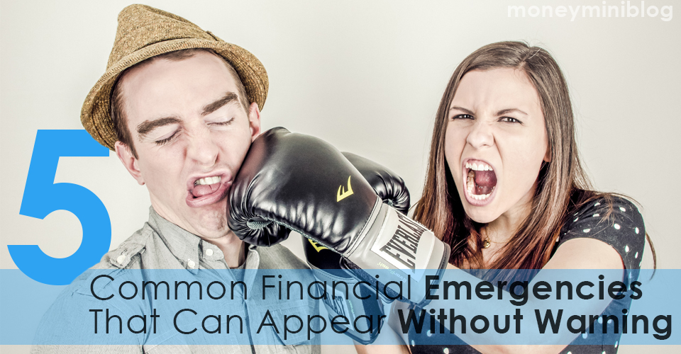 5 Common Financial Emergencies That Can Appear Without Warning
