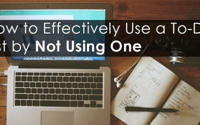How to Effectively Use a To-Do List by Not Using One