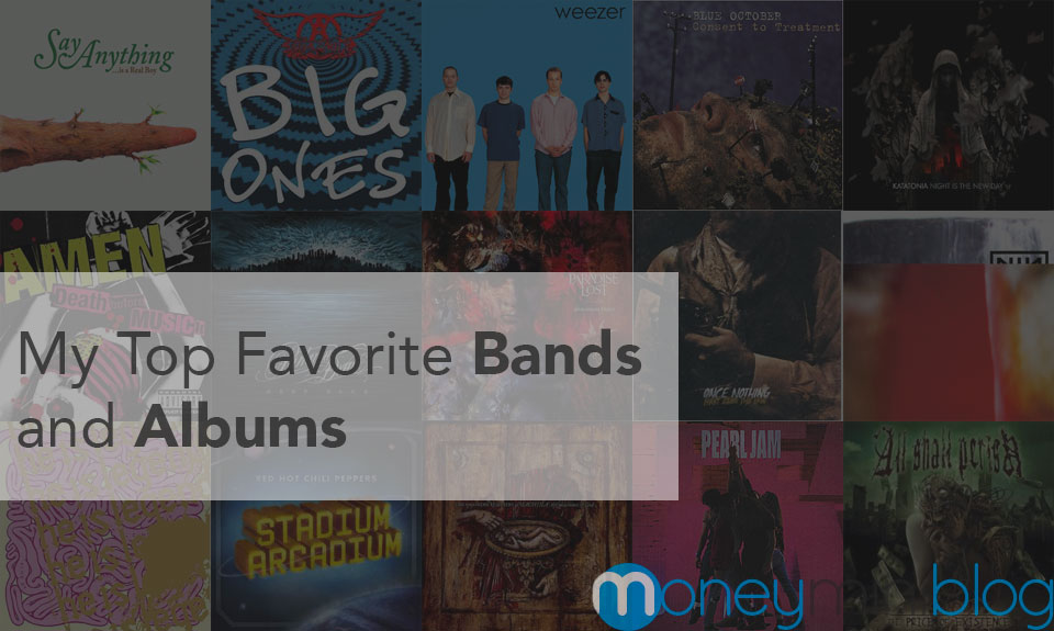 My Top Bands and Albums (Just for Fun – List Your Favorites Too)