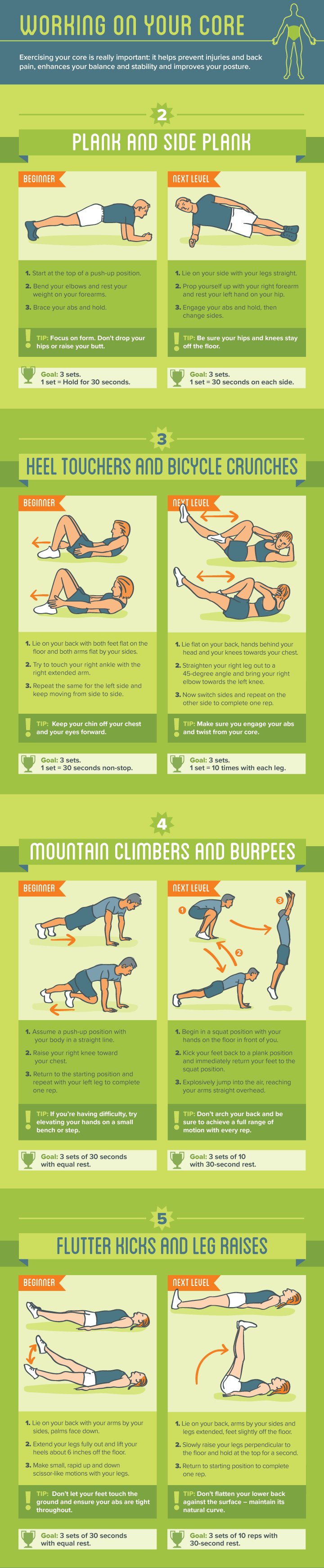 bodyweight exercises ab workouts