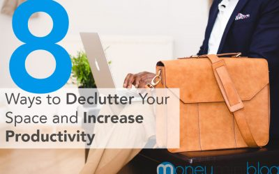 8 Ways to Declutter Your Space and Increase Productivity