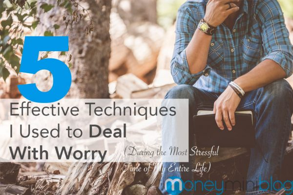 worry deal with stress