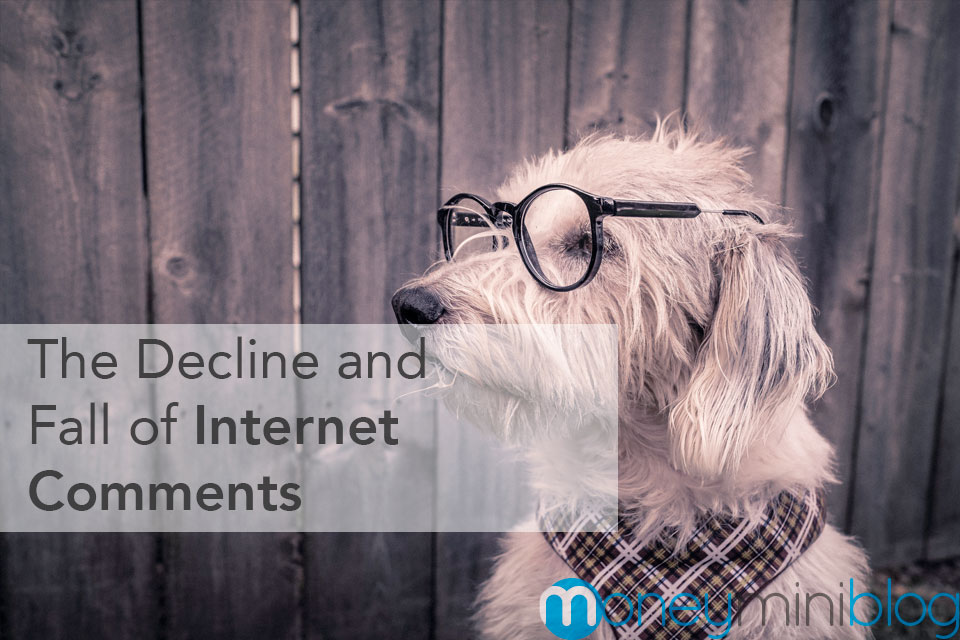 The Decline and Fall of Internet Comments