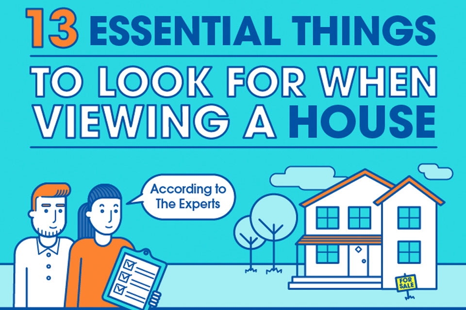 13 Essential Things To Look For When Viewing A House [Infographic]