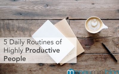 5 Daily Routines of Highly Productive People
