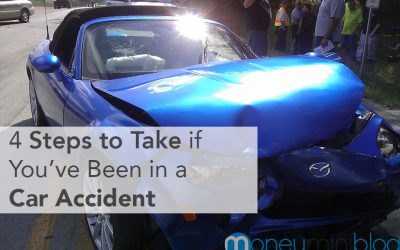 4 Steps to Take if You've Been in a Car Accident