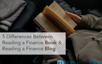 5 Differences Between Reading a Personal Finance Book and a Personal Finance Blog