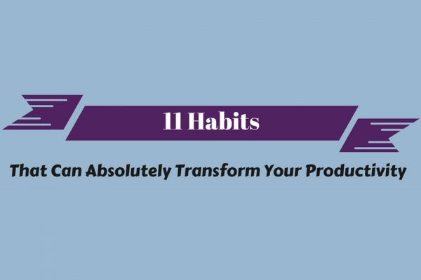habits that will transform productivity