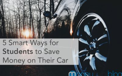 5 Smart Ways for Students to Save Money on Their Car