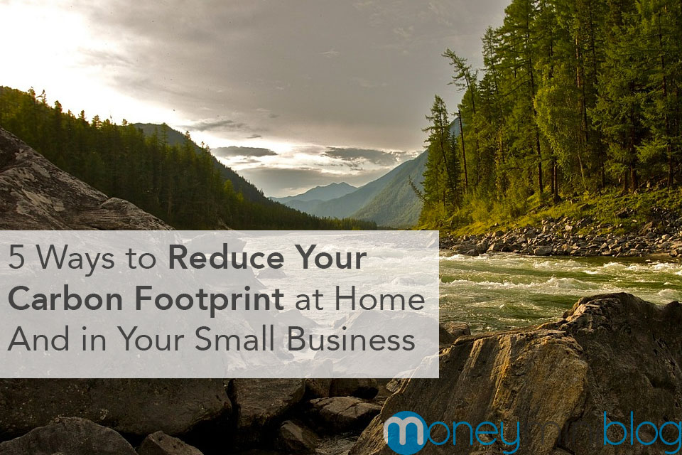 5 Ways to Reduce Your Carbon Footprint at Home and in Your Small Business