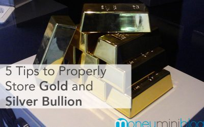 5 Tips to Properly Store Gold and Silver Bullion