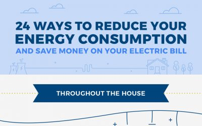 24 Simple Ways to Reduce Energy Use and Lower Your Electric Bill [Infographic]
