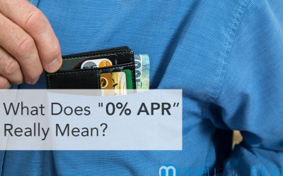 """What Does """"0% APR"""" Really Mean?"""