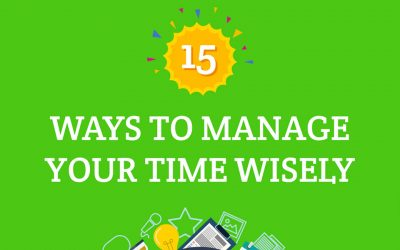 15 Ways to Manage Your Time Wisely [Infographic]