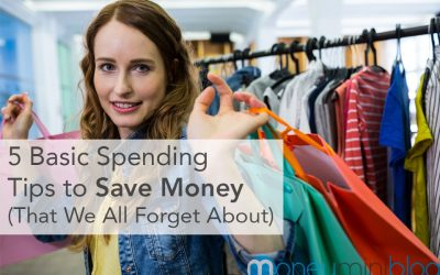 5 Basic Spending Tips to Save Money (That We All Forget About)