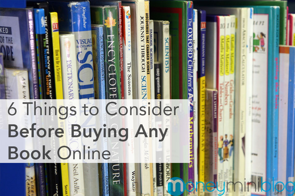 6 Things to Consider Before Buying Any Book Online