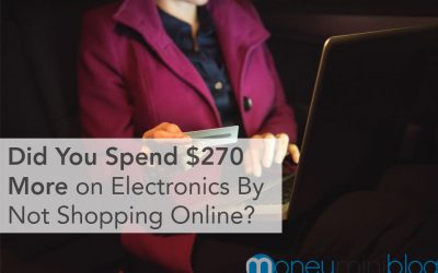 Did You Spend $270 More on Electronics By Not Shopping Online?