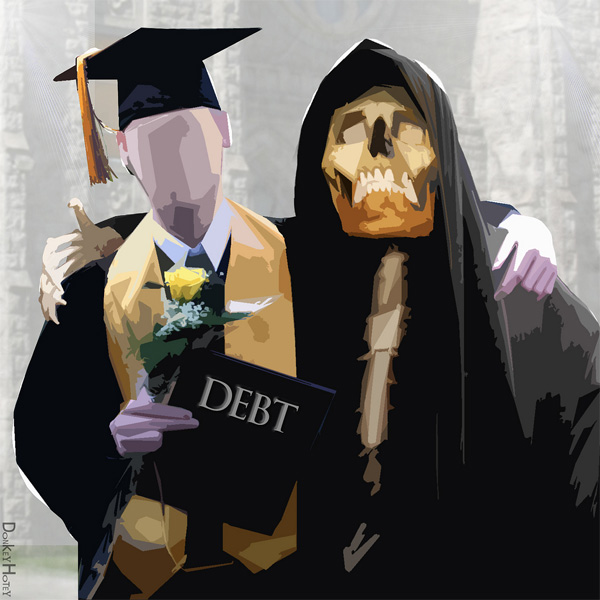 Death by Student Loans