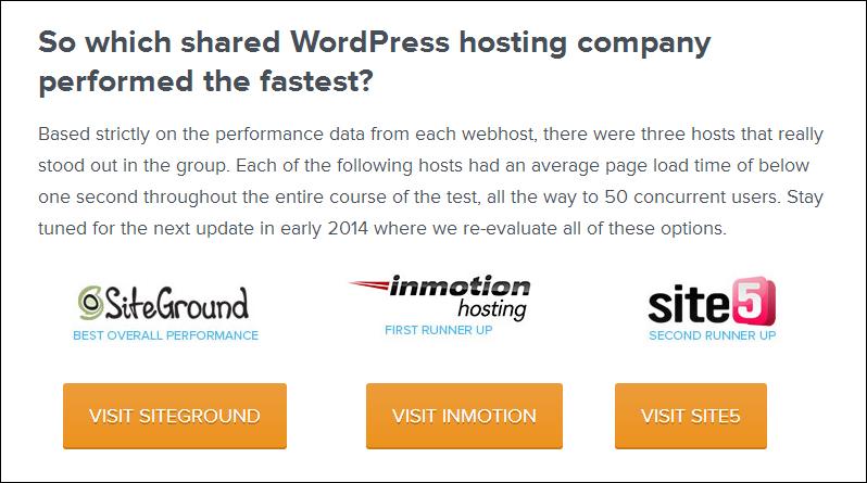 siteground top wordpress hosting