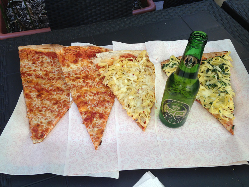 venice pizza and beer