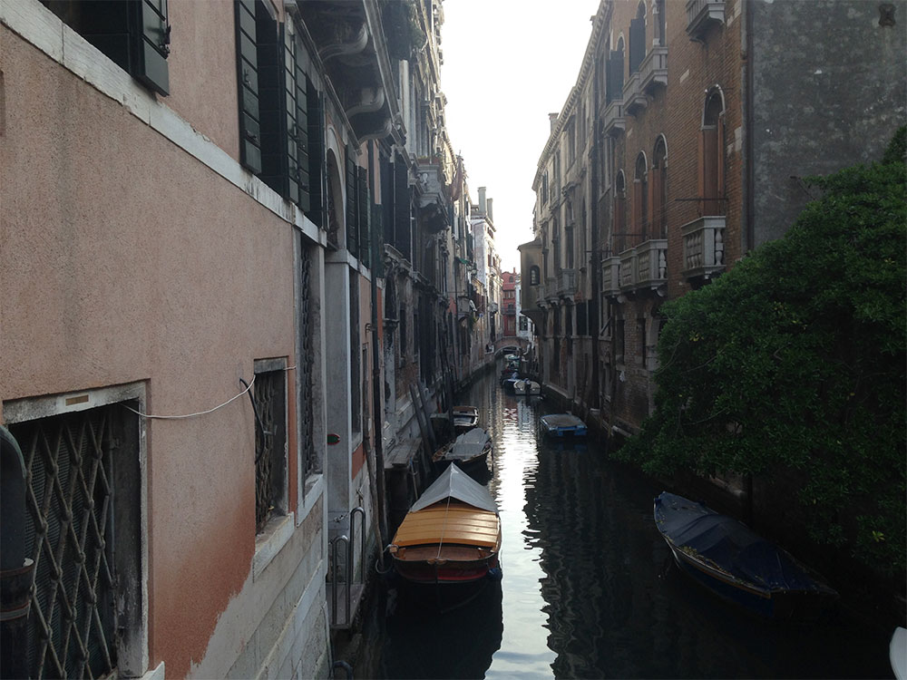 venice gondola ride canal