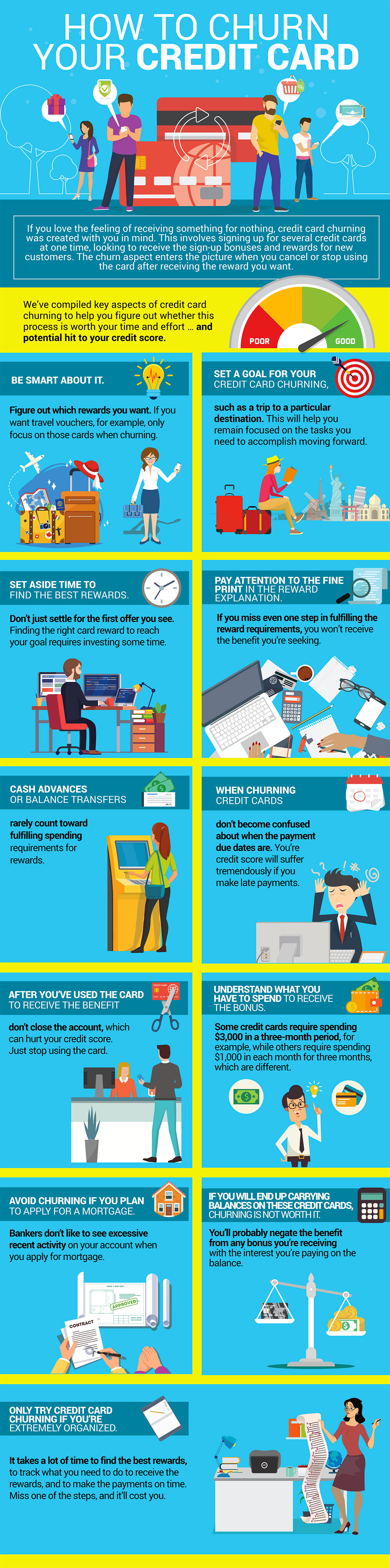 How to Churn Your Credit Card [Infographic]